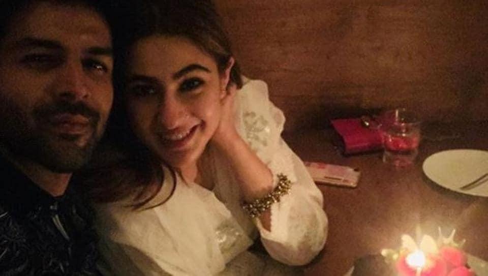 Sara Ali Khan and KartikAaryan enjoy dinner in Bangkok on her birthday.