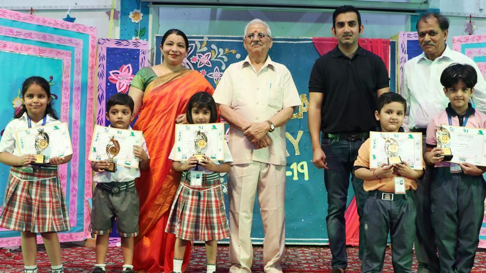 The dignitaries present were Gautam Gambhir, Chandra Pal Sharma, Arun Sharma and Swapna Nair