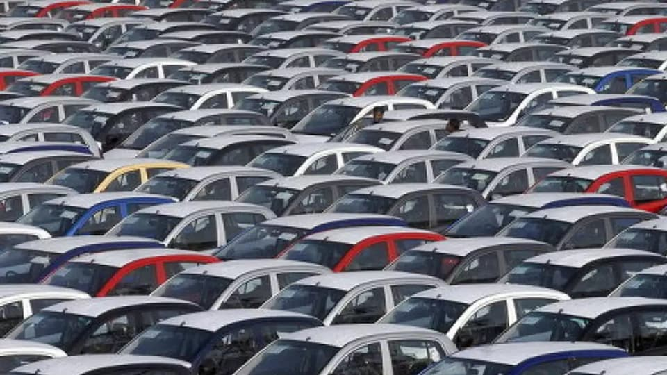 Sales of commercial vehicles were down 25.71 per cent to 56,866 units in July as compared with 76,545 units in the year-ago period, SIAM said.
