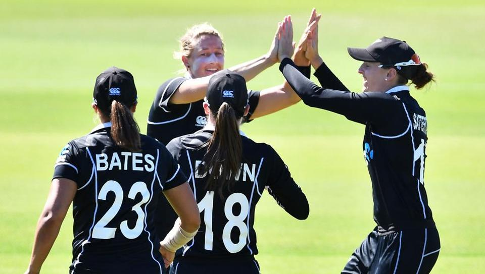 File image of New Zealand cricketers