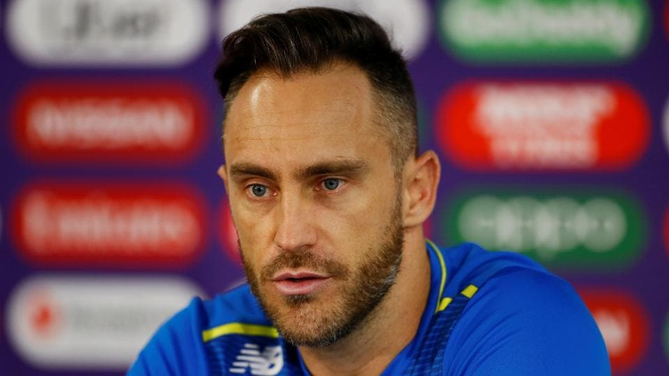 Faf du Plessis  to lead South Africa in Test matches against India.