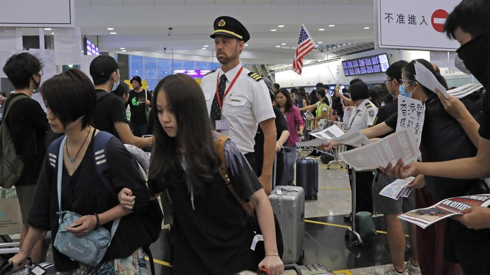 The airport was reopened today, however, hundreds of flights were still listed as cancelled.