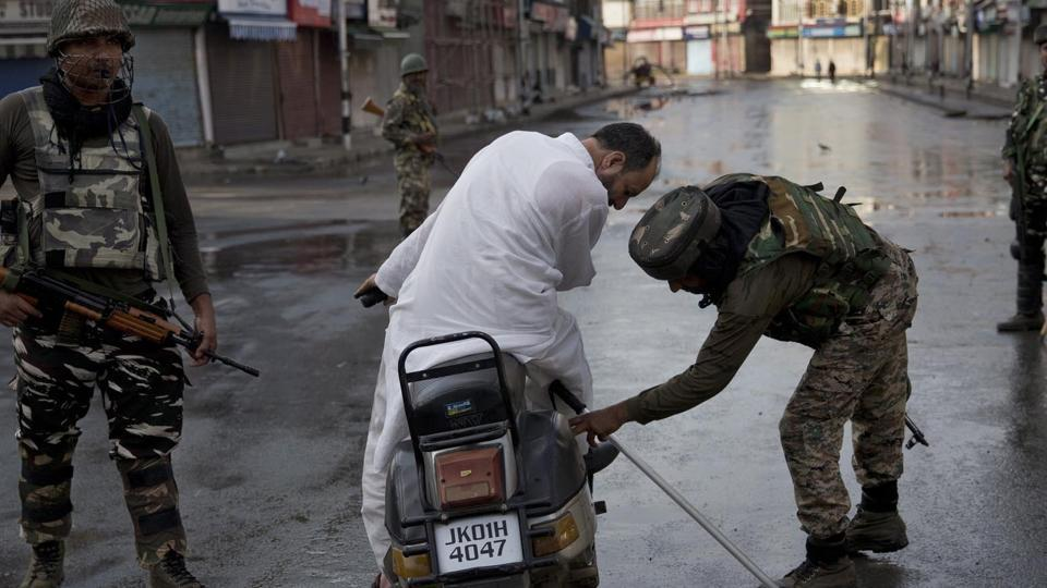 "The government spokesman claimed that the medical services continue ""unhindered"" in Srinagar and all other districts of the valley."