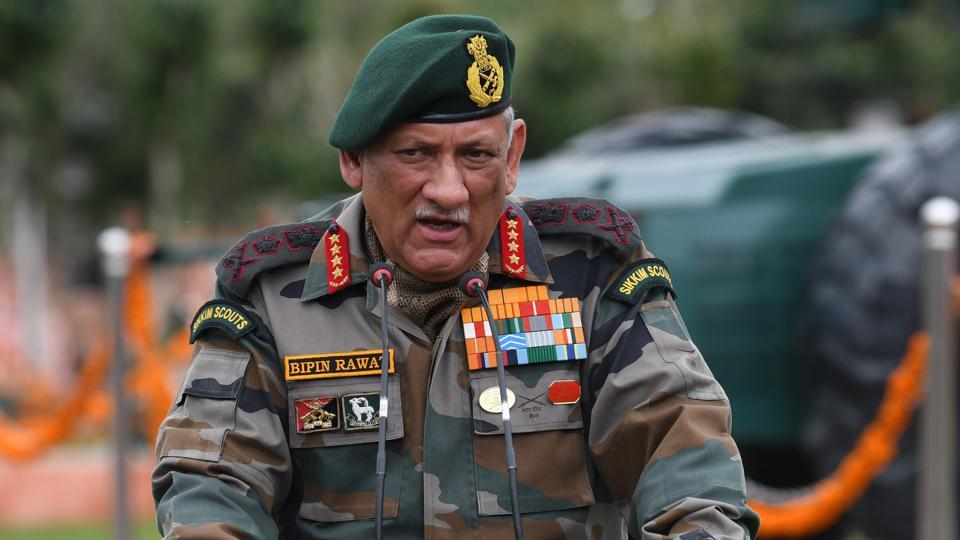 Army Chief General Bipin Rawat said Indian forces are prepared to deal with any security challenges along the LoC.