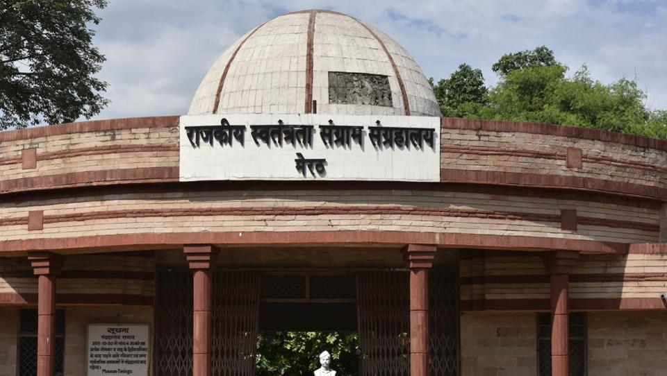 The Government Freedom Struggle Museum in Meerut lies in a state of utter neglect. Located in the NCR city of Meerut, just about 60 km from Delhi, the museum is dedicated to highlighting the role Meerut played in the Revolt of 1857, India's first war of Independence. Ironically, as the country gears up to celebrate yet another Independence Day, the museum stands as a symbol of government neglect and apathy. (Sanjeev Verma / HT Photo)