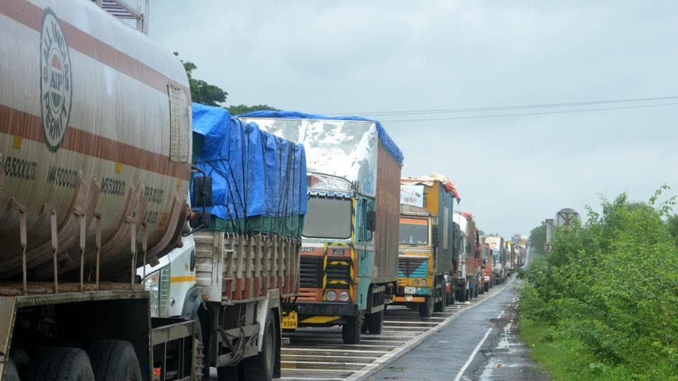 As the water started to recede in Kolhapur and Sangli on Monday, the district administration opened  national and state highways for vehicular traffic.