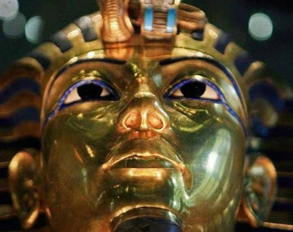 Egypt displays restoration of Tutankhamun gilded coffin, since it was first discovered in 1922.
