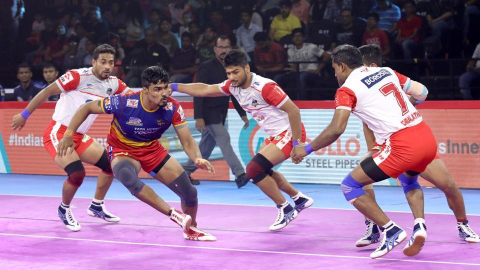 Haryana Steelers defeated UP Yoddha in PKL 2019.