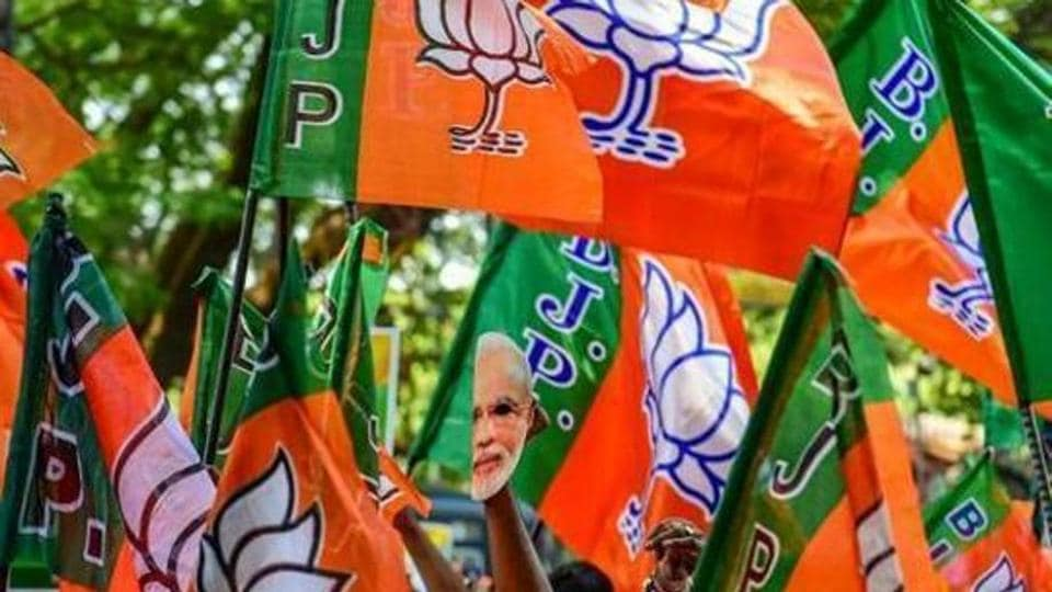 Ten legislators of the Sikkim Democratic Front (SDF) on Tuesday joined the Bharatiya Janata Party (BJP) in Delhi.