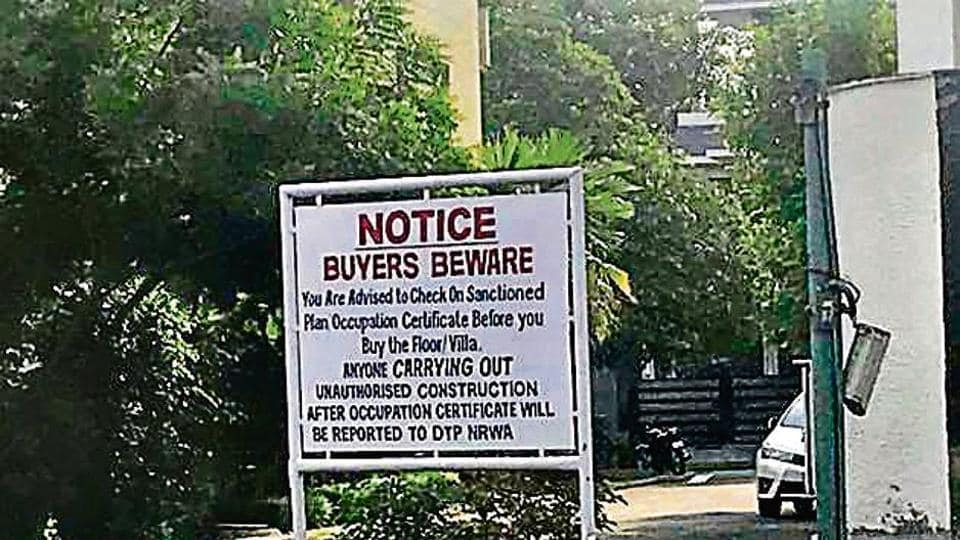 Over 200 occupation certificates of individual residential units in private colonies were cancelled in the last two months.