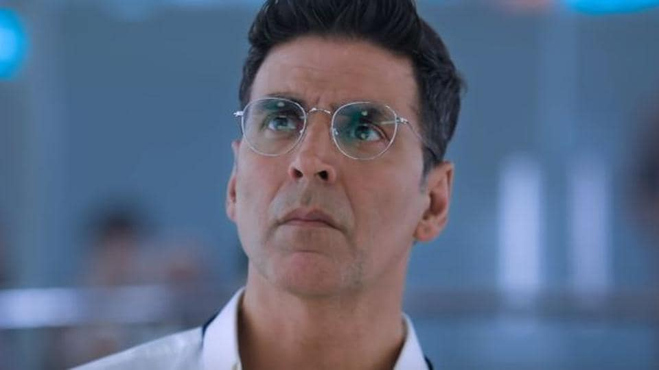Mission Mangal movie review: Akshay Kumar stars as a scientist in the film.