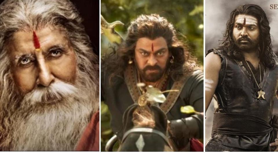Sye Raa Narasimha Reddy stars Amitabh Bachchan, Chiranjeevi, Sudeep,Vijay Sethupathi, Nayanthara, Tamannaah in important roles.