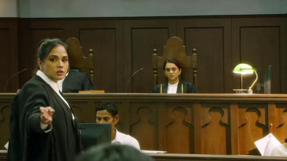 Richa Chadha plays a lawyer in Section 375.