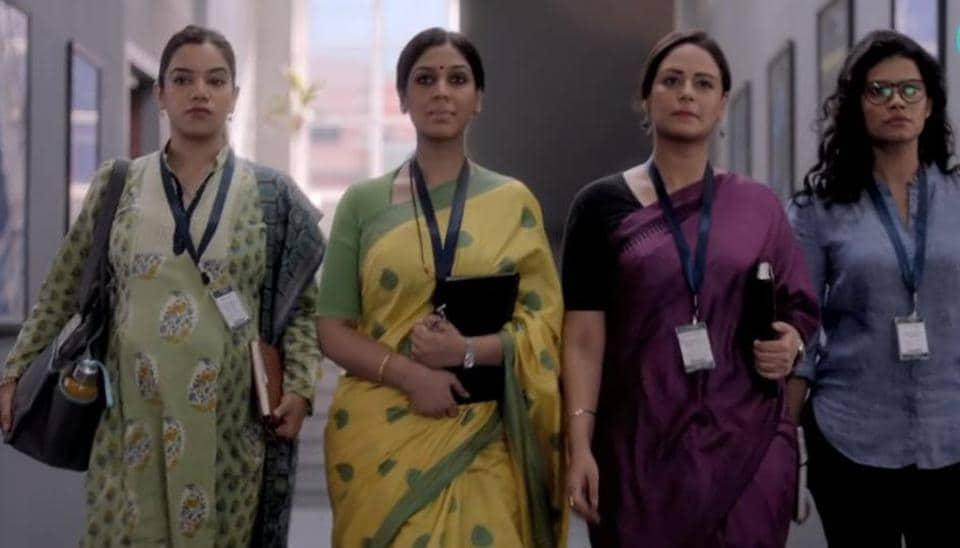 Mission Over Mars teaser stars Nidhi Singh, Sakshi Tanwar, Mona Singh and Palomi Ghosh.