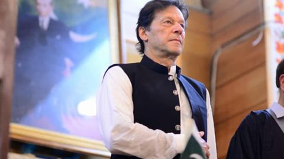 Imran Khan, who has seen a decline in support from Islamic countries over Kashmir, kept his appeals for intervention directed at the United Nations instead. (Photo @PTIofficial)