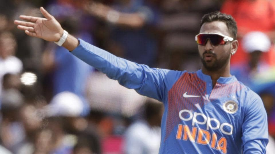 File image of India cricketer Krunal Pandya.