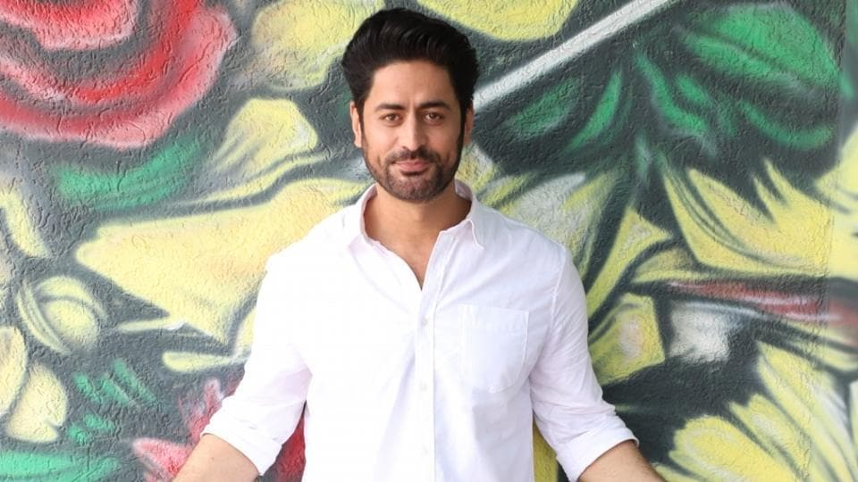 Actor Mohit Raina at the promotion of his upcoming web series Kaafir.