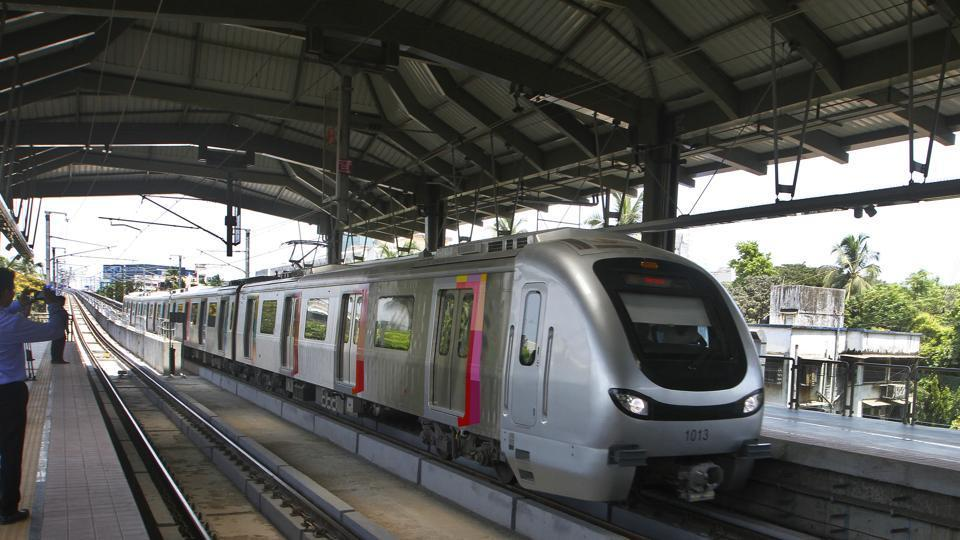 While Metro-7 (Dahisar E-Andheri E) will have 82 escalators, Metro 2A (Dahisar-DN Nagar) will have 105 escalators at its stations. The two elevated corridors are expected to be operational by December 2020.