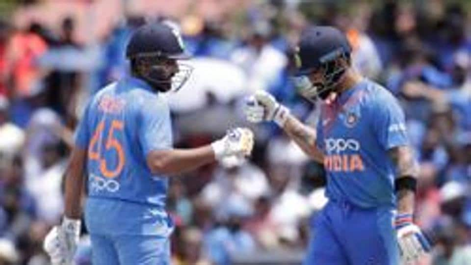 File image of India cricketers Virat Kohli and Rohit Sharma.