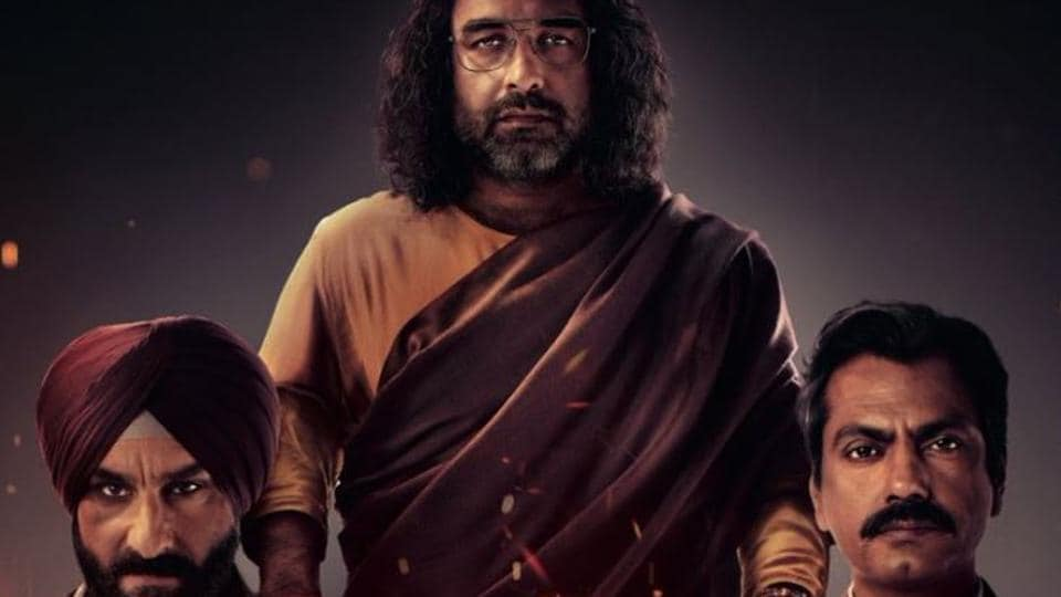 Sacred Games season 2 review: Saif Ali Khan, Nawazuddin Siddiqui and Pankaj Tripathi in a still from the Netflix series.