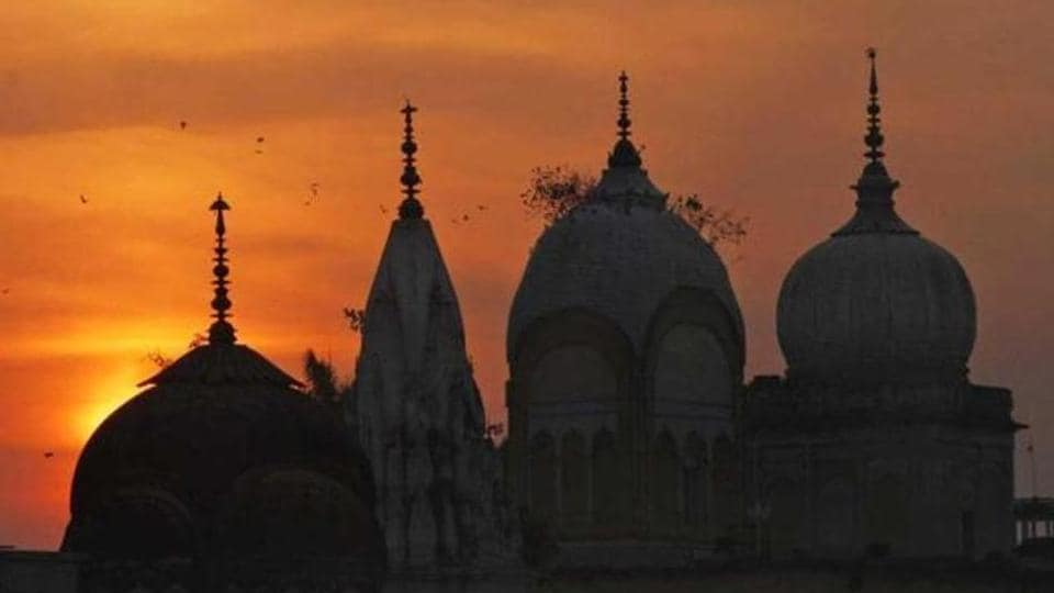 The Supreme Court is hearing arguments in the Babri Masjid-Ramjanmabhoomi case.