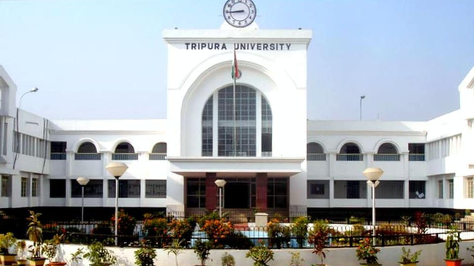 The attack came after Tripura Times' August 10 report about Moti Kapoor, a sociology teacher at the university, showing karate moves in one of his classes a few days ago. Kapoor has said the report was baseless.
