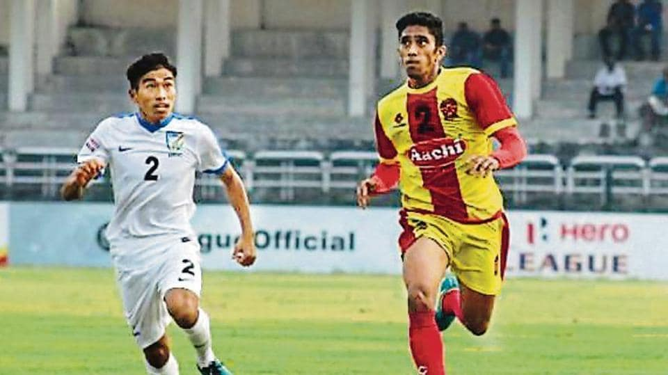 Gokulam's Mohamed Salah (right) is eyeing an India berth.