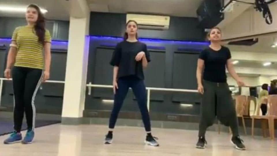 Alia Bhatt in a BTS video for the Prada song.