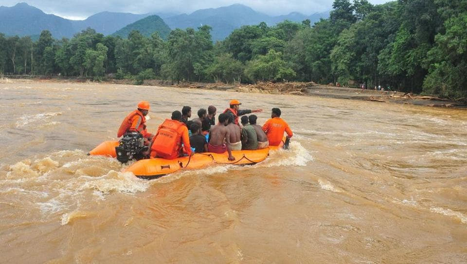 Scenes from worst-affected Kavalapara in Malappuram district of Kerala.