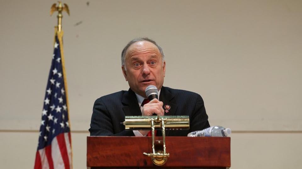 Republican lawmaker Steve King.