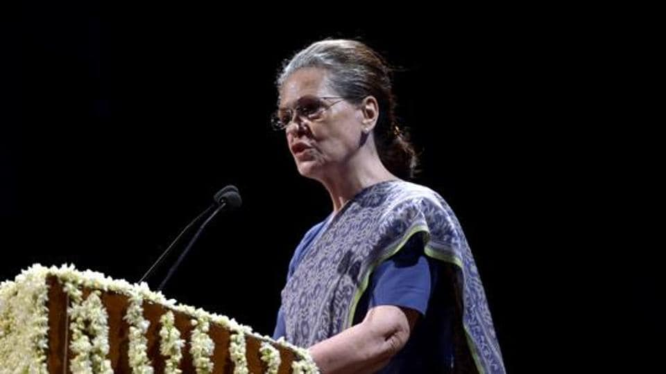 Sonia Gandhi took over as the interim Congress president on Saturday.