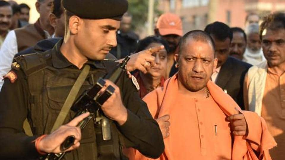 UPchief minister Yogi Adityanath's security is getting a leg-up due to intel inputs of a possible threat to him
