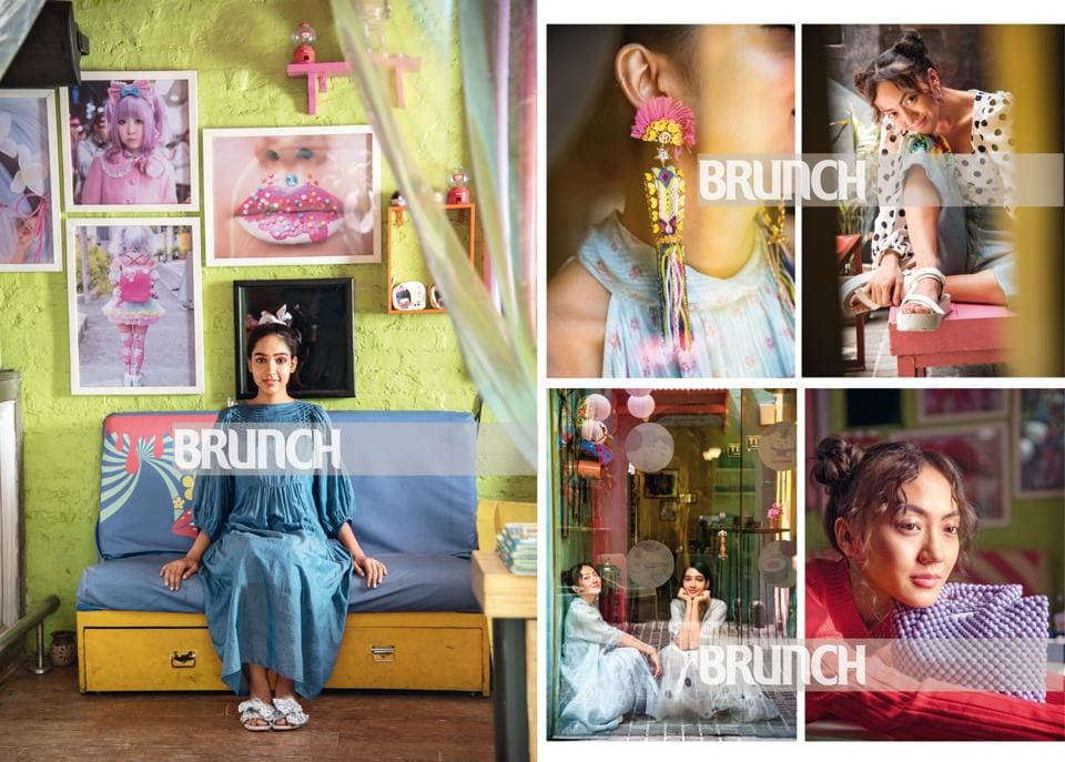 How you can make 'kiddish' elements a part of your adult style. (Styling by Drishti Vij; Location courtesy: Guppy, New Delhi; Models: Yashvika Ghai and Depora (Ninjas Model Management); Make-up and hair: Leeview Biswas)