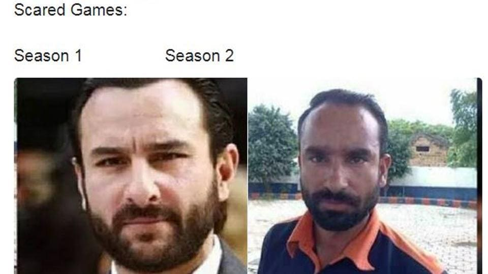 Fans are sharing memes comparing Sacred Games season 2 unfavourably to the first.