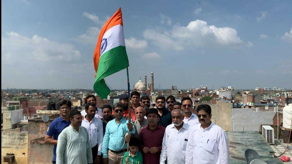 Independence day is a very important festival in old Delhi.