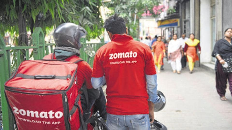 Zomato replied to his post in a hilarious manner.