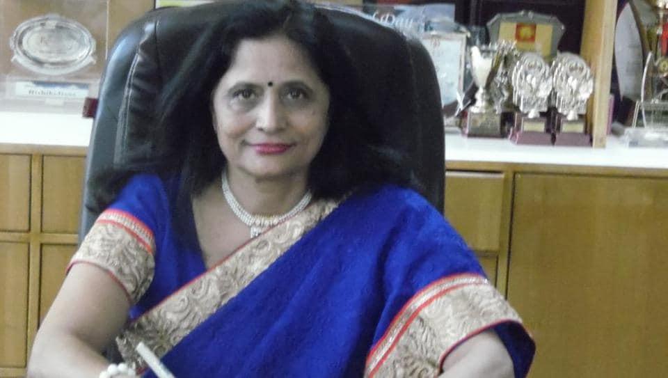 Alka Kshatriya, principal, RD Rajpal School, Sector-9, Dwarka