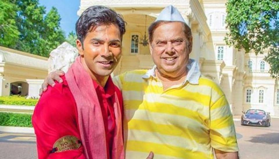 On David Dhawan's birthday, Varun Dhawan had a special wish for his dad.
