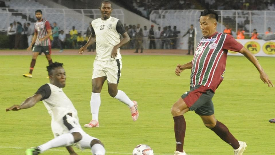 File image of Mohun Bagan in action in Durand Cup.