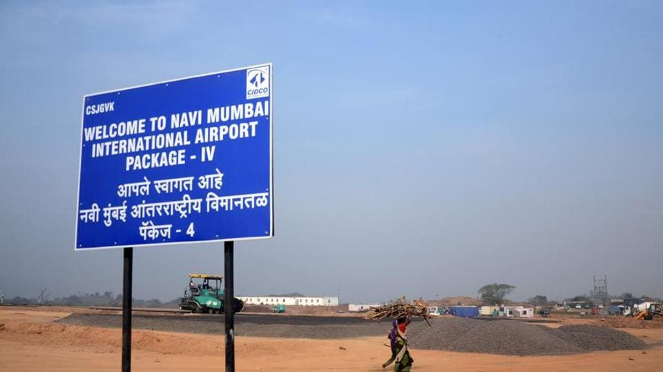 The elevated harbour railway corridor to Panvel will connect to both the Navi Mumbai and Mumbai airports.