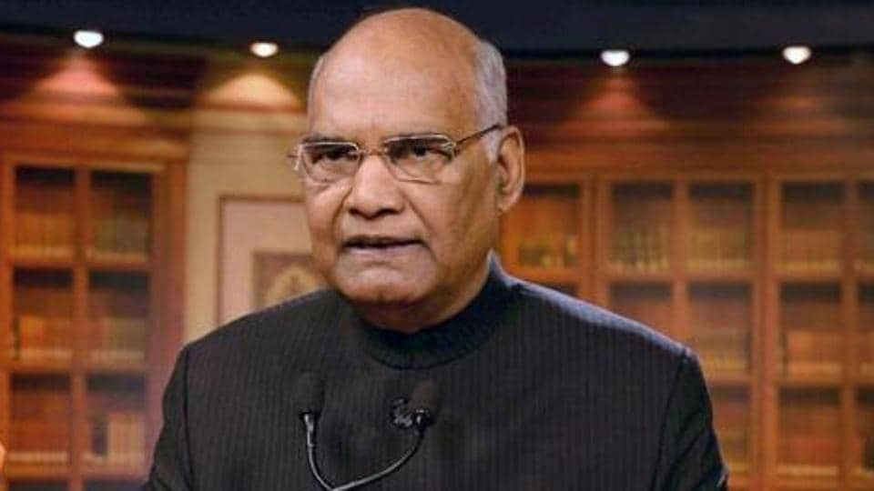 President Ram Nath Kovind paid a visit to former finance minister Arun Jaitley at AIIMS on Friday.