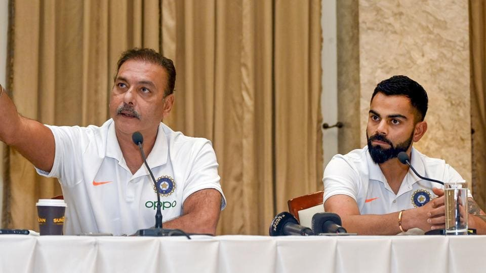Shastri wins close race to stay as India head coach