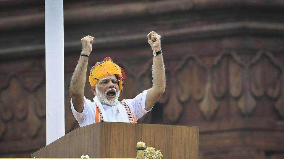 Prime Minister Narendra Modi addresses the nation from the ramparts of the historic Red Fort on the occasion of 73rd Independence Day. PM Modi begins his two-day visit to Bhutan today.