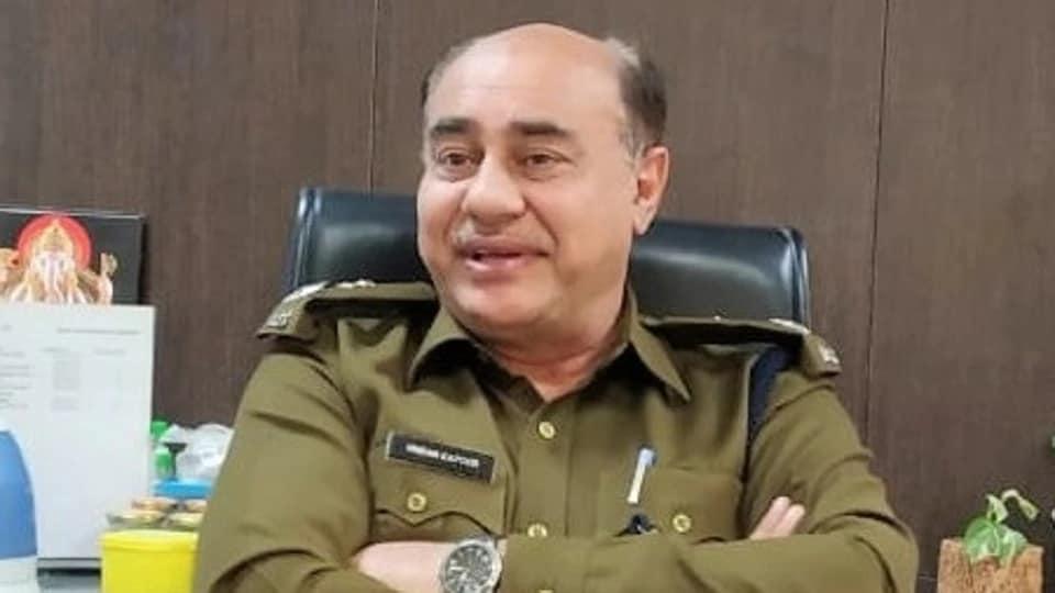 Senior police officer Vikram Kapoor killed himself in his Sector 30 residence on Wednesday.