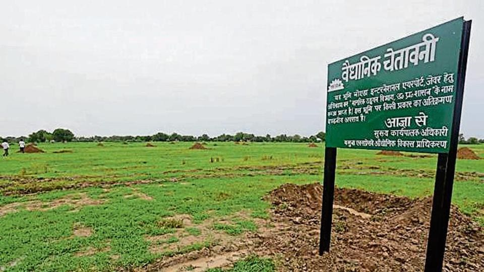 On August 6 this year, the two agencies took possession of land from Ranhera village, the first village from which land was taken over, and Kishorpur will be the third.