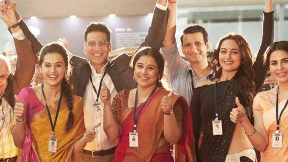 Mission Mangal box office day two:The film is impressing one and all and is holding its ground.