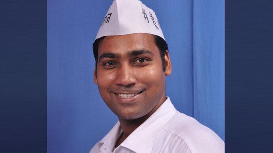 AAP's Kondli MLA Manoj Kumar will have to spend time in prison for 7 days.