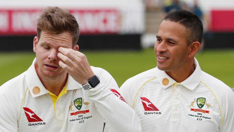 File image of Steve Smith and Usman Khawaja.