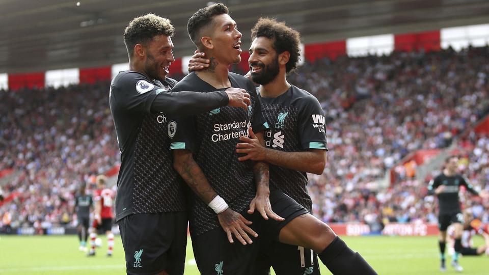 Liverpool beat Southampton 2-0.