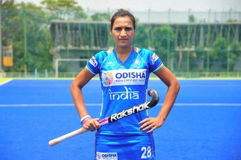 Indian women hockey team captain Rani Rampal.
